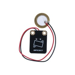 DFROBOT - Gravity: Dijital Piezo Disk Titreşim Sensörü
