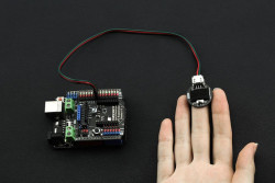 Gravity: Heart Rate Monitor Sensor for Arduino - Thumbnail