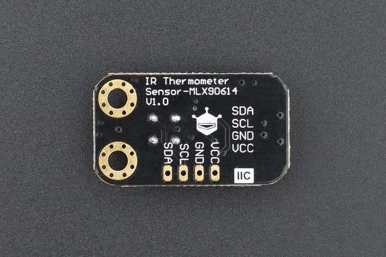 Gravity: I2C Temassız Kızılötesi(IR) Sıcaklık Sensörü - Arduino Uyumlu