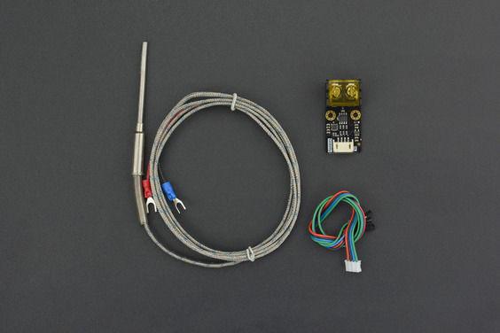 Gravity: I2C Yüksek Sıcaklık Sensörü (K-type, 800℃)