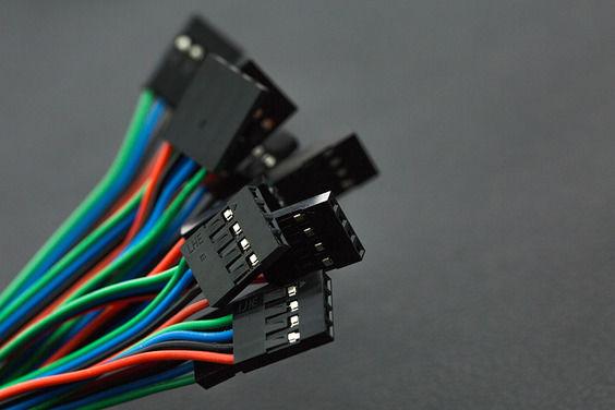 Gravity: IIC-I2C-UART 4 Pin Sensör Kablosu (10'lu Paket)