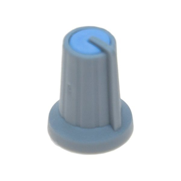 Grey Potansiometer Button (Blue Headed)