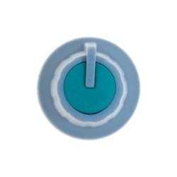 Grey Potansiometer Button (Green Headed) - Thumbnail