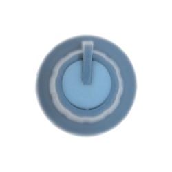 Grey Potansiometer Button (White Headed) - Thumbnail