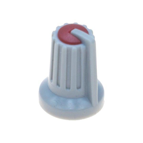 Gri Potansiyometre Düğmesi (Kırmızı Başlı)