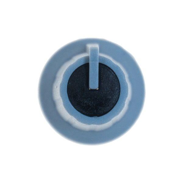 Gri Potansiyometre Düğmesi (Siyah Başlı)