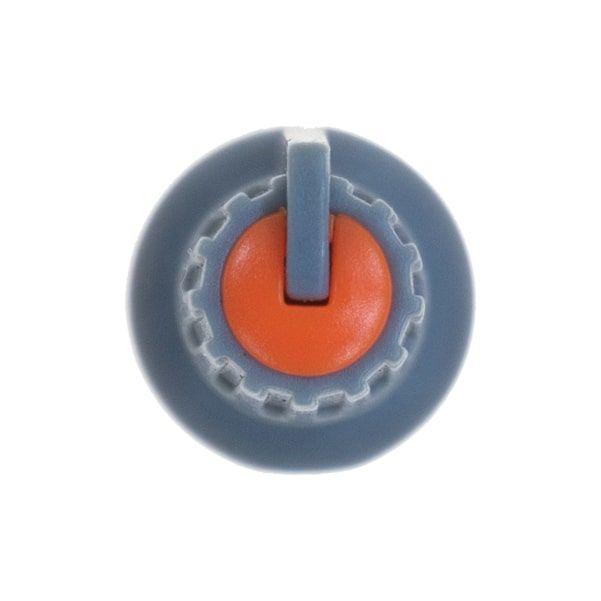 Gri Potansiyometre Düğmesi (Turuncu Başlı)