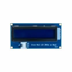 Grove - 16x2 Mavi Üzeri Beyaz LCD Ekran - Thumbnail