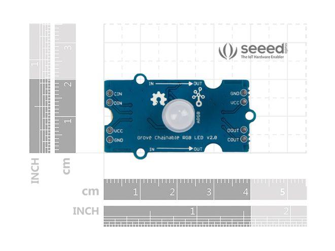 Grove - Adreslenebilir RGB LED v2.0