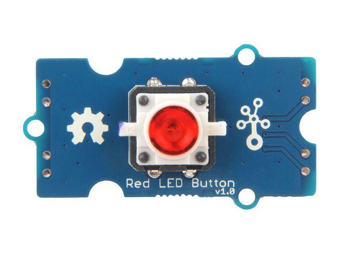 Grove - Kırmızı LED'li Buton
