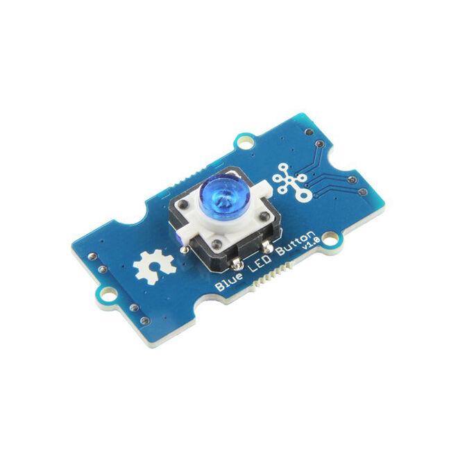Grove - Mavi LED'li Buton