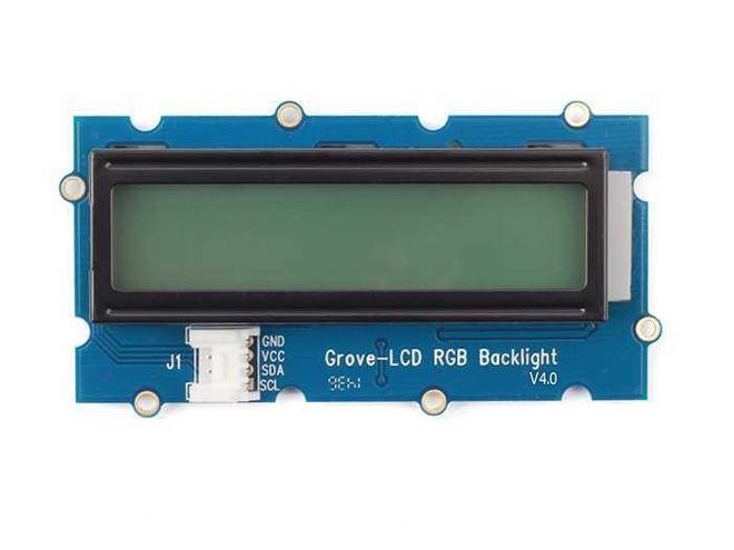 Grove RGB Arka Aydınlatmalı 16x2 LCD Modülü