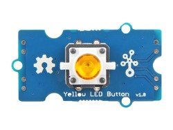Grove - Sarı LED'li Buton - Thumbnail