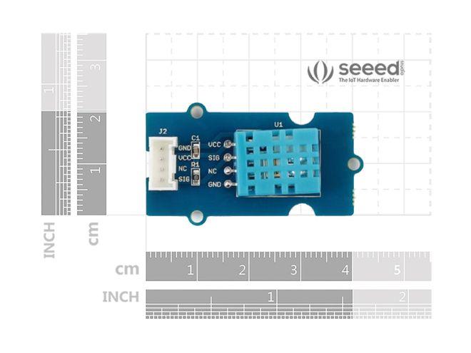 Grove - Sıcaklık ve Nem Sensörü (DHT11)