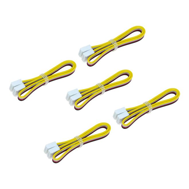 Grove - Universal 4 Pin Buckled 20cm Cable (5-pack)