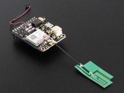 GSM/Hücresel Quad-Bant Anten - uFL Konektör -İnce Sticker Tip - Thumbnail