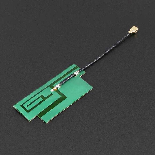 GSM/Hücresel Quad-Bant Anten - uFL Konektör -İnce Sticker Tip