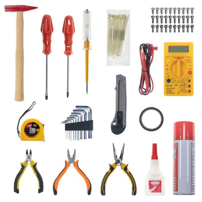 Hand Tools Tool Bag Set (Hobby)