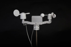 Hava İstasyon Kiti (Anemometer, Rüzgar Yönü, Su Geçirmez Kasa) - Thumbnail