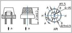 Hava Kalite Sensörü - MQ-135 - Thumbnail