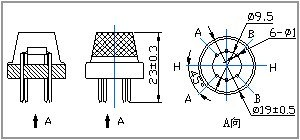 Hava Kalite Sensörü - MQ-135