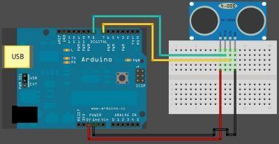 HC-SR04 Ultrasonik Mesafe Sensörü
