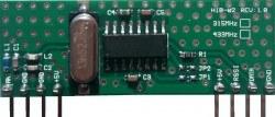 RF Hybrid - HIB02-315 315 MHz RF Alıcı Hibrit Modül