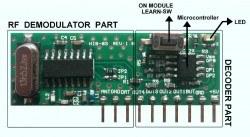 HIB03-PT-315 315 MHz Kod Çözen ve Kod Öğrenen Akıllı RF Hibrit Modül - Thumbnail