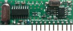 RF Hybrid - HIB03-PT-315 315 MHz Kod Çözen ve Kod Öğrenen Akıllı RF Hibrit Modül