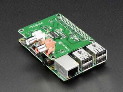 HiFiBerry DAC+ HAT - Standard RCA