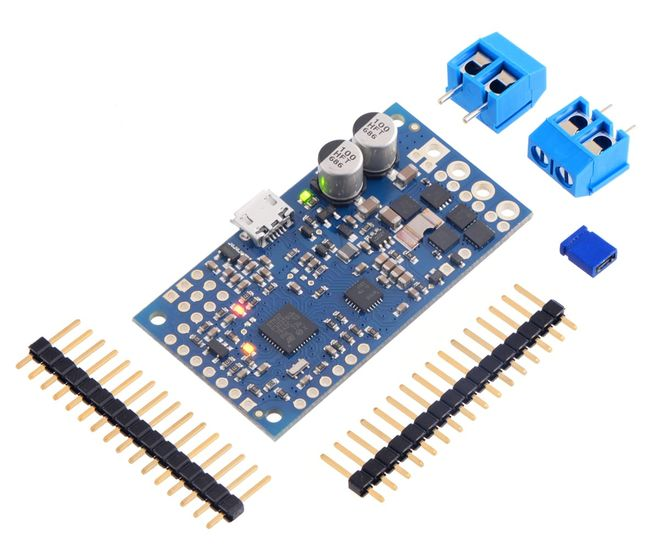High-Power Simple Motor Controller G2 24v12