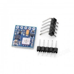 HMC5983L + BMP180 4 Eksen Pusula ve Atmosferik Basınç Sensörü - HMC5983L + BMP180 - GY-652 - Thumbnail