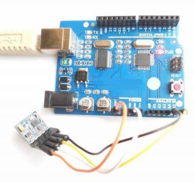 HMC5983L + BMP180 4 Eksen Pusula ve Atmosferik Basınç Sensörü - HMC5983L + BMP180 - GY-652