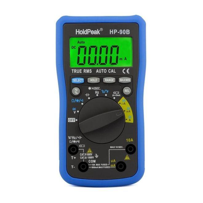 Holdpeak True RMS Multimetre HP-90B