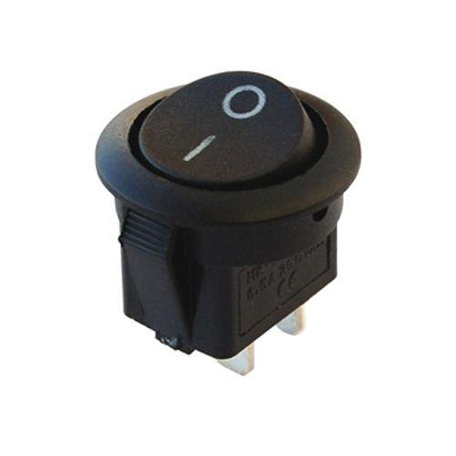 IC133 Round Black Switch