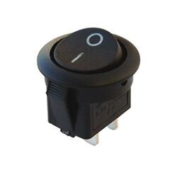 Robotistan - IC133 Yuvarlak Siyah Anahtar
