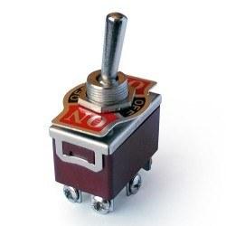 Robotistan - IC158 6 Ayaklı On-Off-On Büyük Toggle Anahtar