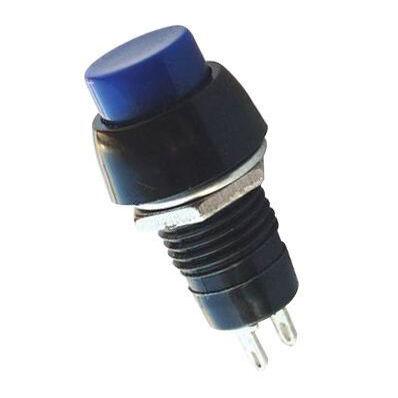IC191 Plastic Short Button - Blue