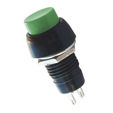 IC191 Plastic Short Button - Green