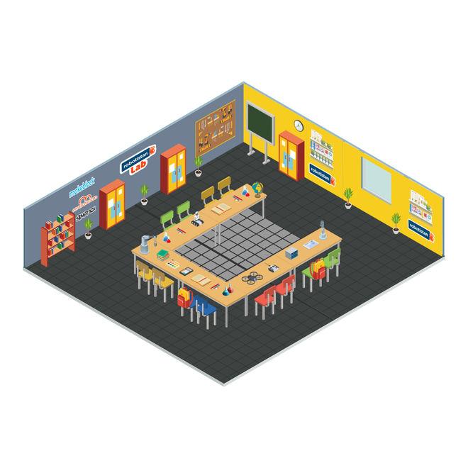 İleri Seviye İlkokul Robotik Kodlama Laboratuvarı