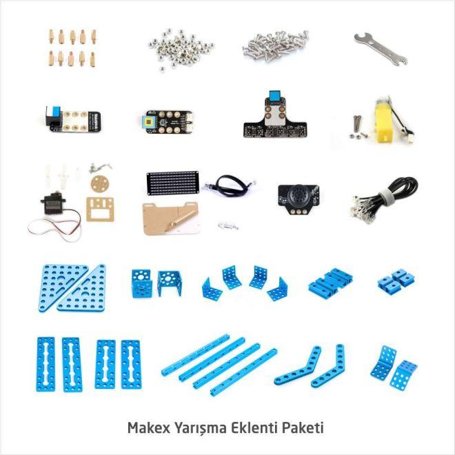 İlkokul ve Ortaokul mBot Robotik Laboratuarı Seti - 12+1 Kişilik Maker Laboratuarı