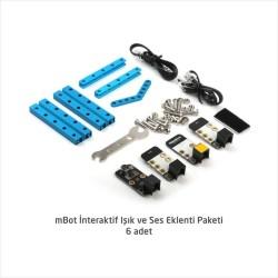İlkokul ve Ortaokul mBot Robotik Laboratuarı Seti - 12+1 Kişilik Maker Laboratuarı - Thumbnail