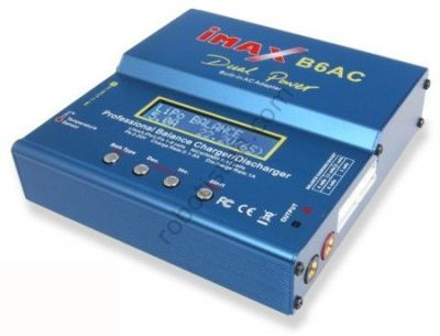 iMAX B6AC Dahili Adaptörlü LiXX, NiXX, Pb Şarj Aleti (80 W)