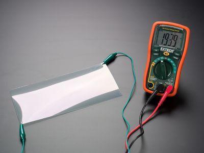İndiyum Kalay Oksit (ITO - indium tin oxide) Kaplı PET Plastik Levha