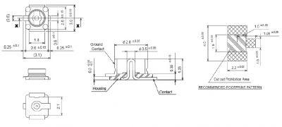 IPEX CONNECTOR - RF Konnektör