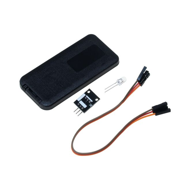 IR Alıcı Verici Kumanda Seti - IR Receiver Module Wireless Remote Control K