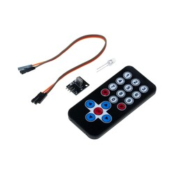 IR Receiver Module Wireless Remote Control Kit - Thumbnail