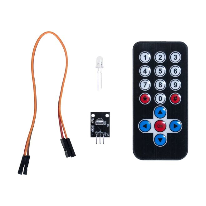 IR Receiver Module Wireless Remote Control Kit