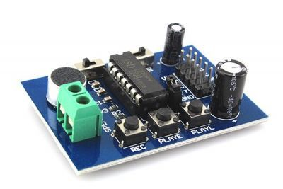 ISD1820 Ses Kayıt ve Çalma Modülü