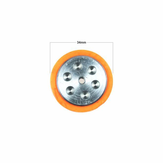 SLT20 Silikon Tekerlek (33x21 mm) - 2 Adet